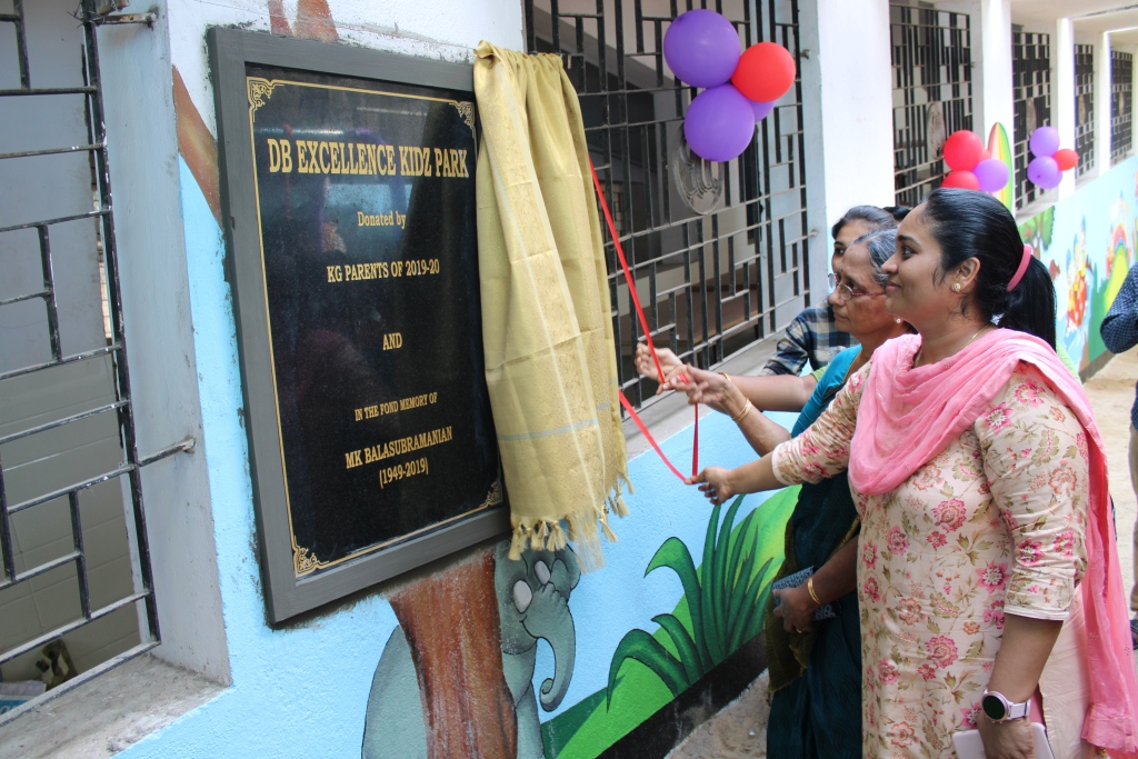 INAUGURATION OF KG KIDZ PARK